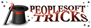 PeopleSoft Tricks