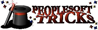 PeopleSoft Tricks